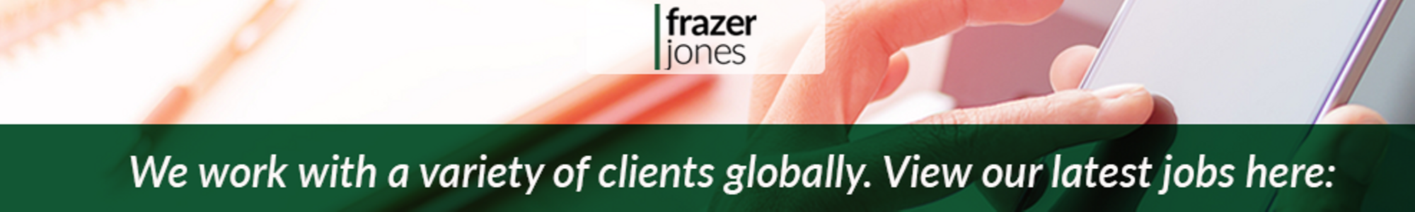 Instructional Design Leadership Development Consultant Job With Frazer Jones 1401616663