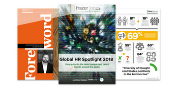 Frazer Jones launch their Global HR Spotlight 2018 Report