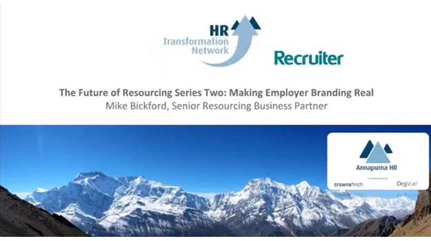 The Future of Resourcing Series Two: Making Employer Branding Real