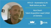 HR 4.0 - AUTOMATION & AI: WALK BEFORE YOU RUN BY NICK SHORT