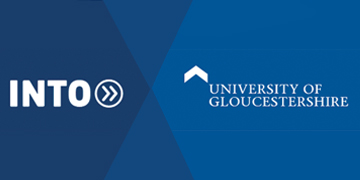 INTO University of Gloucestershire logo