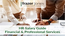HR Salary Guide: Financial & Professional Services