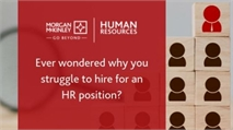 Ever wondered why you struggle to hire for an HR position?